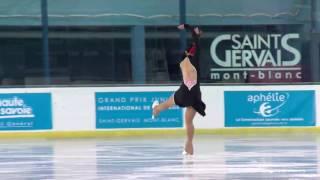 2016 ISU Junior Grand Prix - St. Gervais - Ladies Short Program - Aiza MAMBEKOVA KAZ