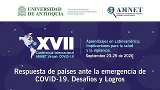 Conferencia: Respuesta de países ante la emergencia de COVID-19. Desafíos y Logros