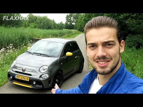 2017 Abarth 595 Pista Full Review (DRIVE & SOUND) - Smallest car with four exhausts?!
