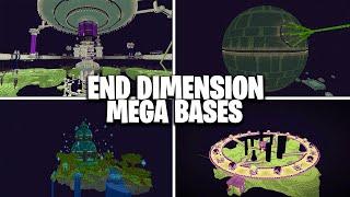 BEST End Island Transformations in Minecraft (Best End Islands)