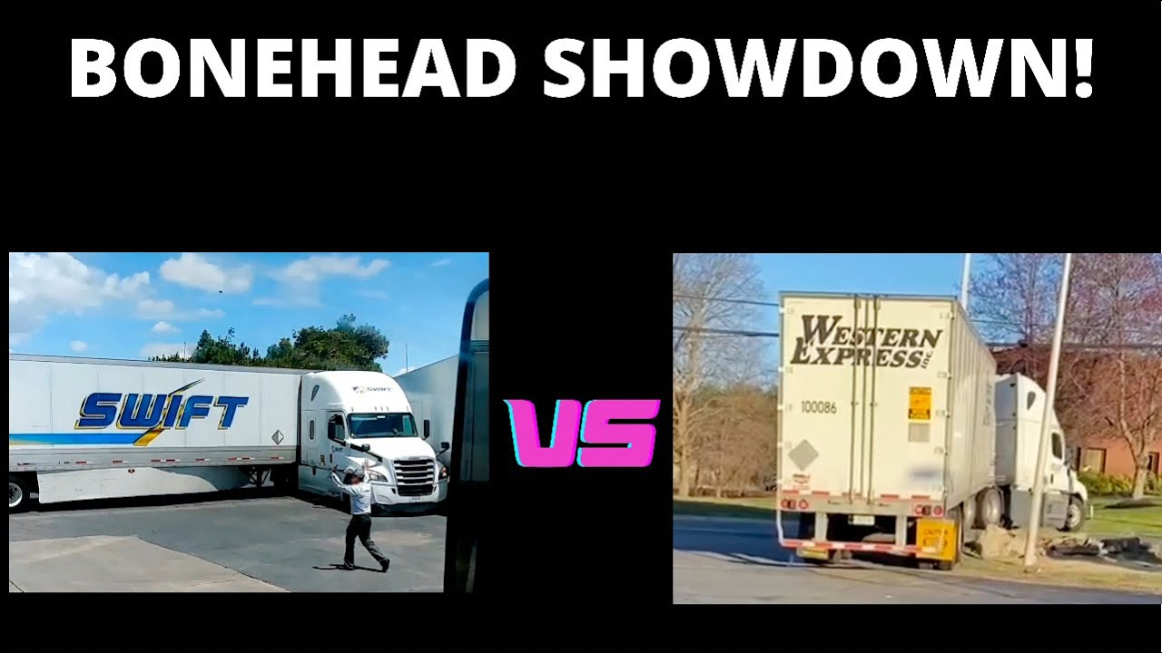 SWIFT TRUCKING VS WESTERN EXPRESS   BONEHEAD TRUCKERS