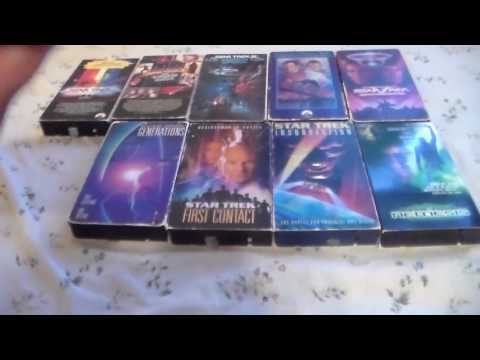Star Trek The Complete Motion Pictures Collection VHS Review