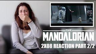 """THE MANDALORIAN 2X08 """"THE RESCUE"""" REACTION PART 2/2"""