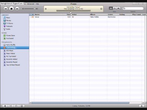 How to Convert AAC (ITunes) Format to MP3, No Download!