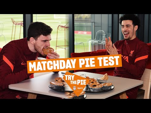 Robbo, Curtis and Pies |  'For the guy who doesn't like a cake, he's destroying it!'