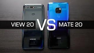 Обзор Honor View 20 и сравнение с Huawei Mate 20