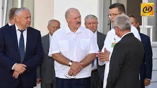 Что показали Александру Лукашенко в Гомельской области?