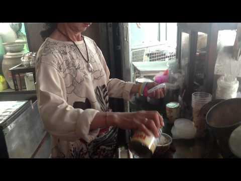 กาแฟโบราณ 50 ปี ตลาดผ้าวัดกลาง ชลบุรี