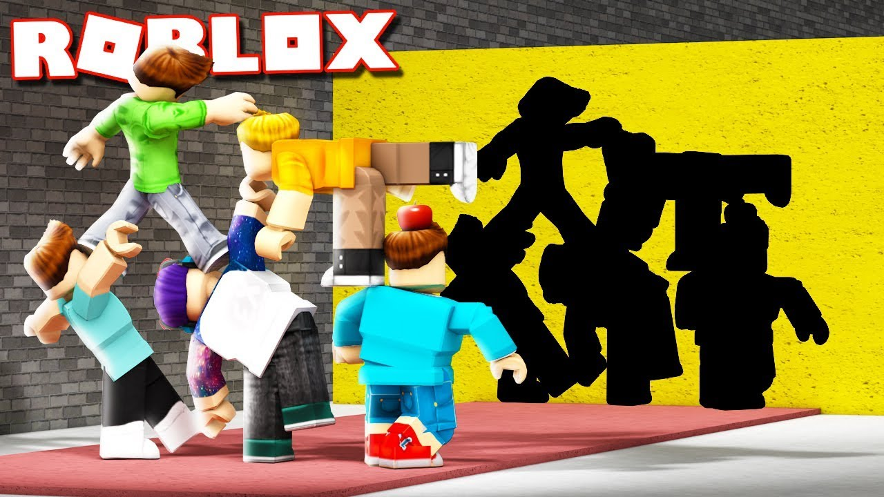 MULTIPLAYER HOLE IN THE WALL!? New Roblox Hole in the Wall!