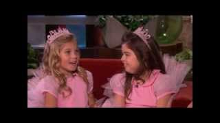 Sophia Grace & Rosie Are Back! on Ellen show