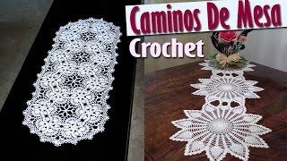 Caminos Para Mesa - Tejidos a Crochet ( Diseños e IDEAS ) thumbnail