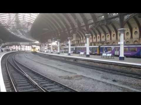 Network Rail Class 43 HST Passing York