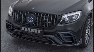 2019 BRABUS 600 Compact SUV based on the Mercedes-AMG GLC 63 S
