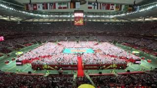 MŚ siatkarzy 2014: Mazurek Dąbrowskiego na Stadionie Narodowym
