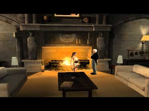 ASMR and Relaxation in Videogames - Tomb Raider Legend - Croft Manor