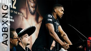 Rematch Regimen ~ Anthony Joshua