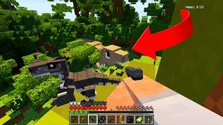 Потерялся с Динозаврами! #2  Звездные Врата в майнкрафт