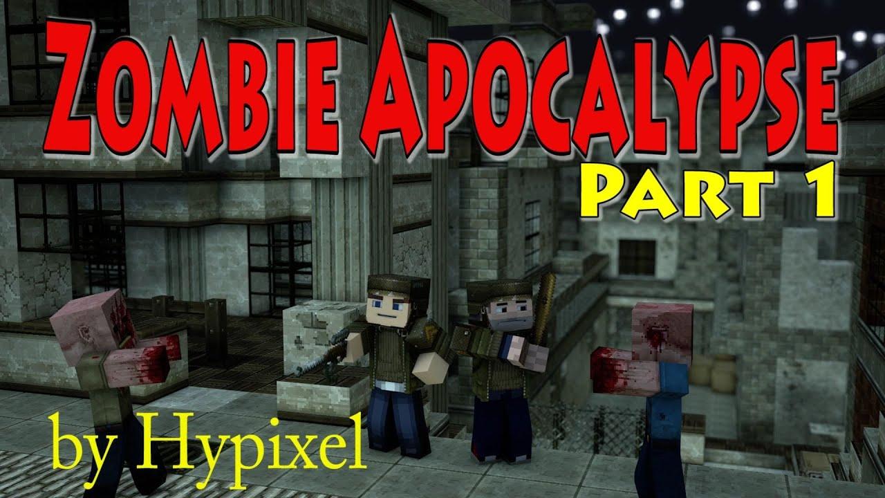 Zombie Apocalypse (Part 12) Hypixel Custom Map