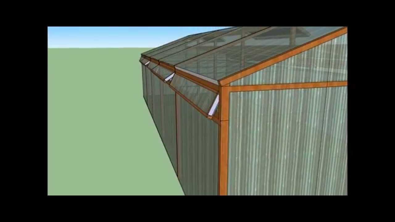 Construcci n invernadero dise o cenital 10x4 mts paso a for Construccion de viveros e invernaderos