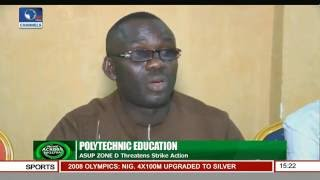 Polytechnic Education: ASUP Zone D Threatens Strike