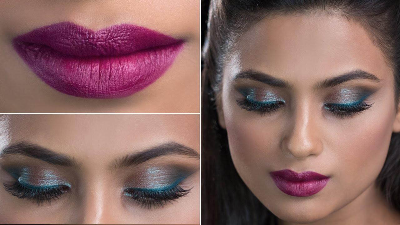 Bridal Makeup Look For Wedding Smokey Eye Makeup Glamrs Youtube