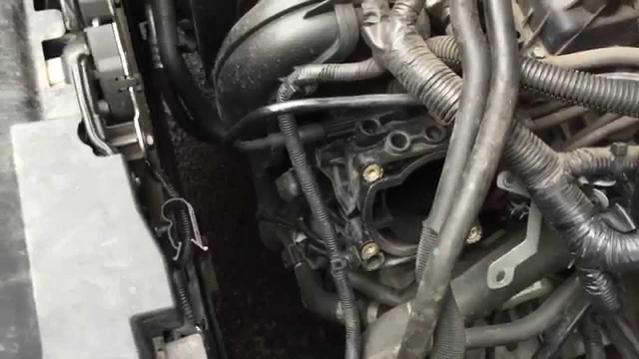 medium resolution of c max 1 8 duratec poor idle throttle body and tmap map sensor clean youtube