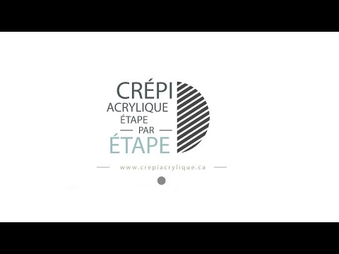 Crpi Acrylique  tape Par tape  Youtube