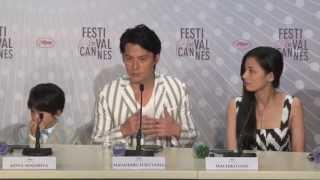 福山雅治×是枝裕和、第66回カンヌ国際映画祭にて http://www.cinemanier...