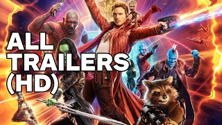Guardians of the Galaxy Vol. 2 (2017) - All Trailers