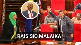 Lema aliamsha dude tena leo Bungeni,Wabunge wengine waingilia,amtaja Rais Magufuli!