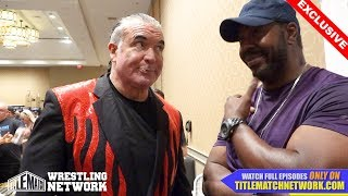 Scott Hall - April 2018 Interview - When I Spit on Stevie Ray at WCW Halloween Havoc