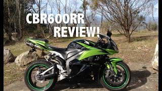 2009 CBR600RR Review - BEST 600CC SUPERSPORT!!