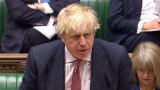 Boris Johnson told off by House of Commons Speaker for sexism