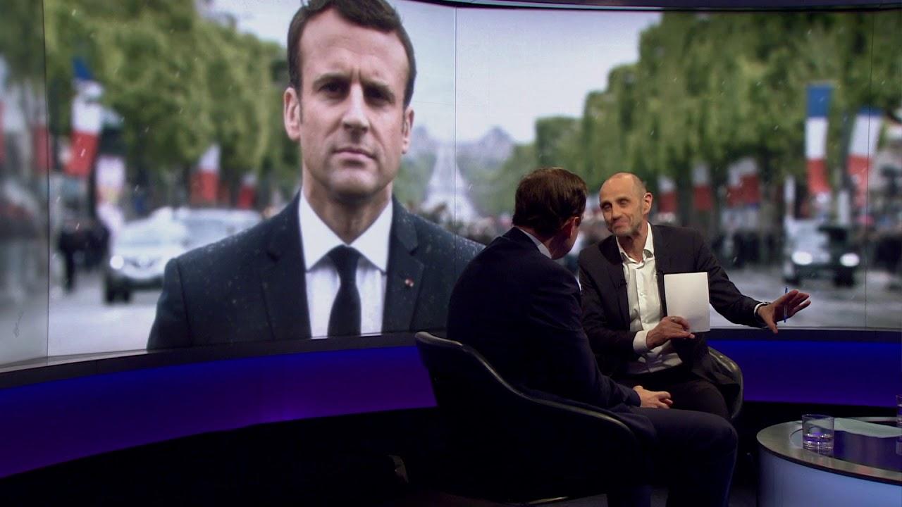Interview sur BBC Two newsnight sur les grandes réformes entreprise en France