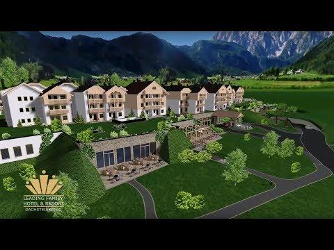 Leading Family Hotel & Resort Dachsteinkönig Version kurz / ideko- Außendesign in 3D