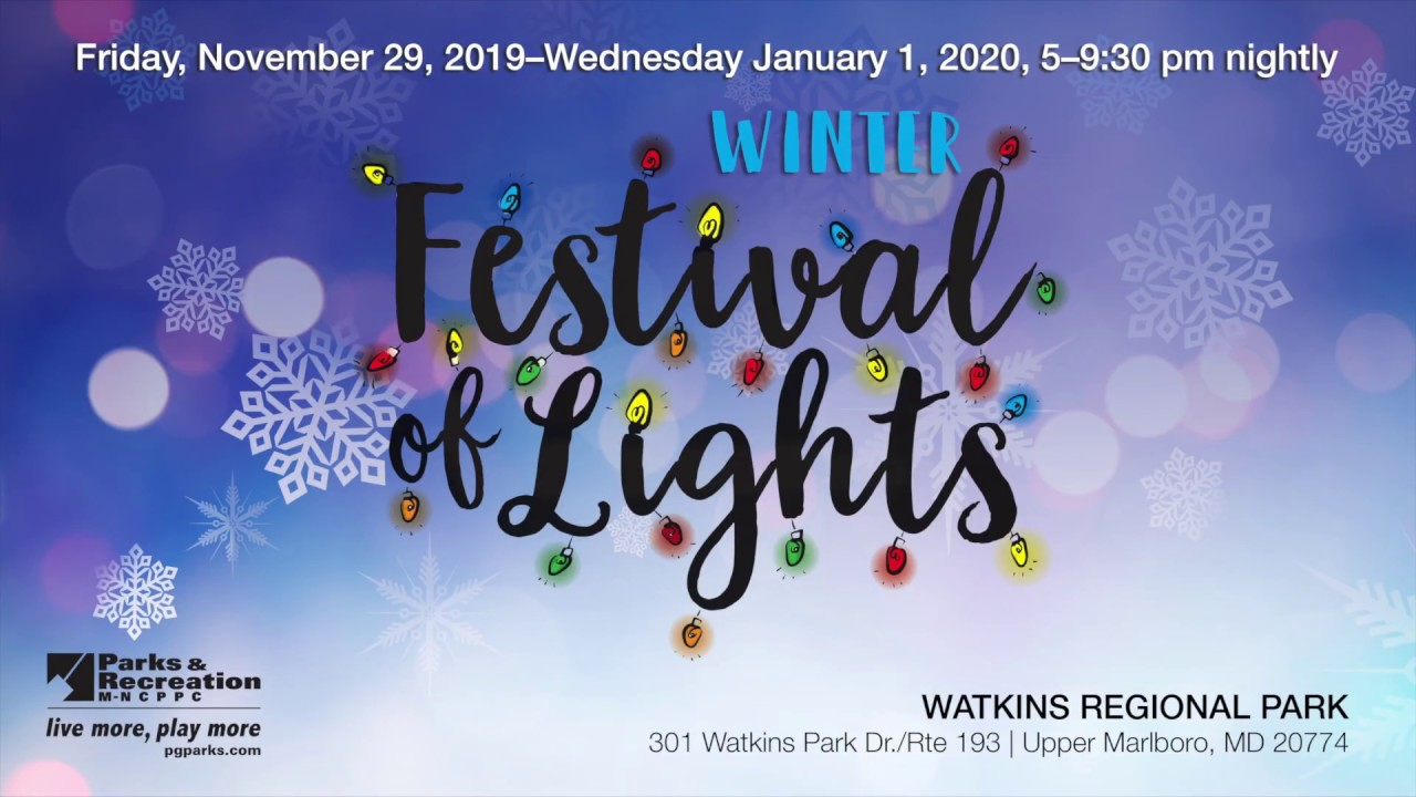 Winter Festival of Lights, 2019
