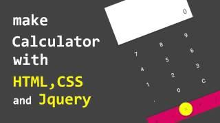 make calculator web app in JADE and SASS