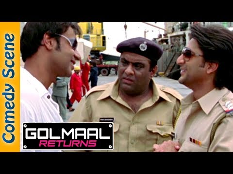 Best Of Arshad Warsi Comedy Scene - Golmaal Returns Comedy - #IndianComedy thumbnail