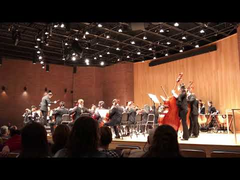 Univ. of Connecticut Symphony Orchestra: Montgomery Variations