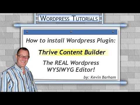 Best WordPress Plugins – How to install Thrive Content Builder plugin