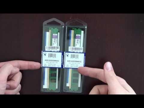 Kingston 2GB 1333MHz DDR3 Unboxing: CPU Modder