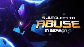 5 Junglers you should ABUSE for Season 9 easy LP (and how to play them) - League of Legends