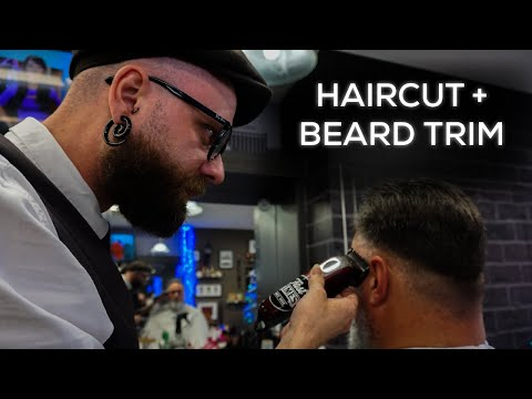 Classic Cut with Beard Trim | New York Barbers