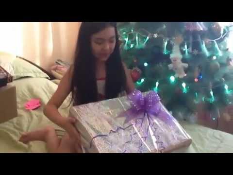 Распаковка подарка от Деда Мороза !!!!!Ураааа!!!!