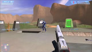 Halo CE (Custom Edition) Multiplayer PC Gameplay #24: Team Slayer em Blood Gulch