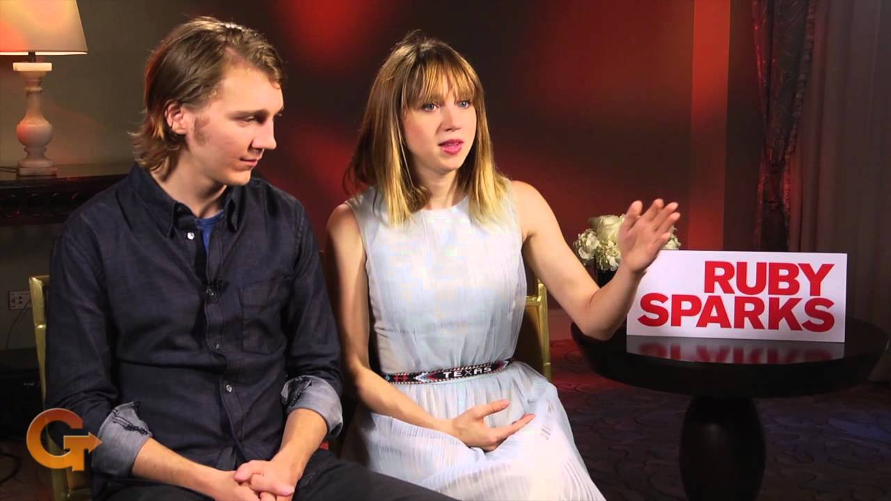 Ruby Sparks Interview Paul Dano And Zoe Kazan Youtube