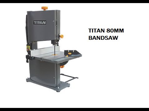 Titan ryobi bs904g bandsaw set up and review youtube titan ryobi bs904g bandsaw set up and review greentooth Image collections