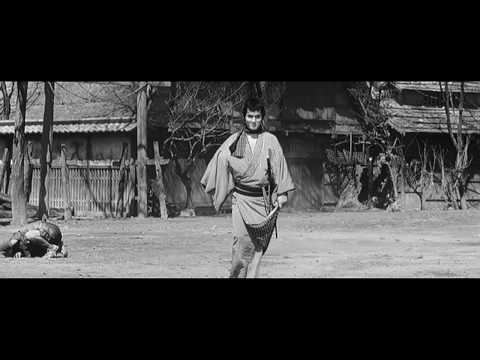 Trailer do filme Yojimbo, o Guarda-Costas
