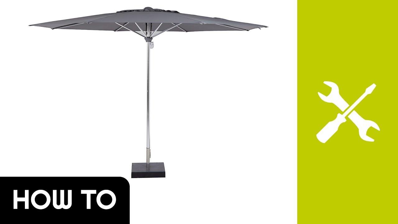How to: parasol opzetten borek zermatt 350cm kees smit