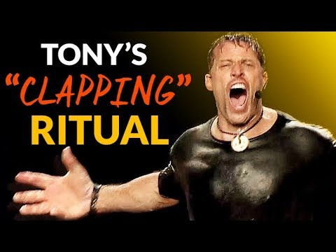 Tony Robbins 7 Pre-Event Rituals Exposed (Hint: Insane Clapping Ritual)